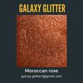 Eco-friendly shimmer body gel - Moroccan rose