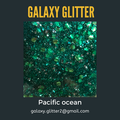 Eco-friendly shimmer body gel - Pacific ocean