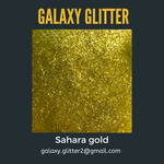 Eco-friendly shimmer body gel - Sahara gold