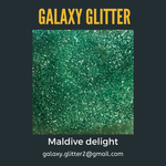 Eco-friendly shimmer body gel - Maldive delight