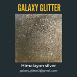 Eco-friendly shimmer body gel - Himalayan silver