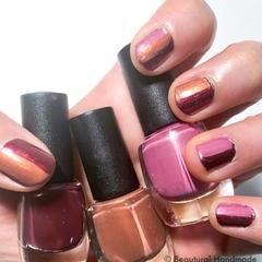 Natural Handmade Nail Lacquer Colours