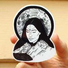 Lunar Vinyl Art Sticker