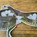 Holographic Snake Vinyl Art Sticker