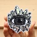 3rd Eye Rainbow Holographic Crystal Sticker