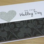 Wedding Day card - roses
