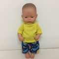 Miniland Dolls Shorts and Tee Shirt to fit 32 cm dolls