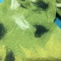 Green Forest Nuno Felt Scarf