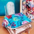 "Medium coin purse ""vintage princess"""