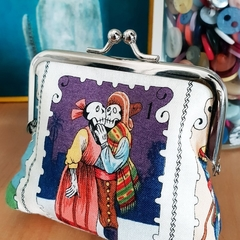 """Medium coin purse """"el amor"""""""
