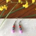 Colourful Acrylic & Crystal Dangle earrings.