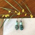 Gorgeous Green Dangle earrings.