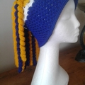 West Coast Eagles Nic Natanui Inspired Crochet Beanie/Pull on slouch hat
