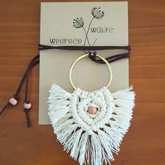 Ivory Macrame necklace
