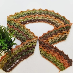 The Grassy Mix Crown Scarf