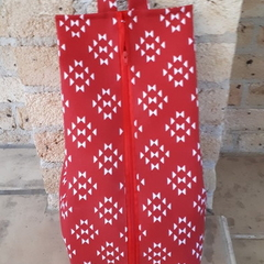 SHOE/TRAVEL BAG (XL) - Red and White