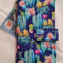 Blue Cactus wallet