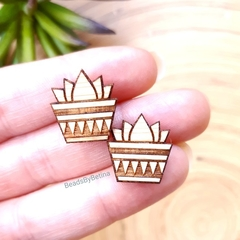 Succulent Plant Studs // Cute & Quirky // Hypo-Allergenic // Free Postage to Aus
