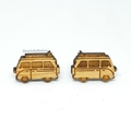 Camper Van Kombi Studs // Cute Earrings // Hypo-Allergenic // Free Post