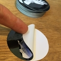 Garden Hand Large Circular Vinyl Art Sticker