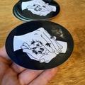 Save the Bees, Large Vinyl Art Sticker