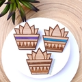 Succulent Lovers Pack // Studs, Brooch & Card // Cute // Gift // Free Post