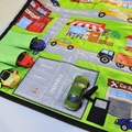 ~ Take Anywhere Car Playmat with 3 car 'garage' ~ FREE POSTAGE ~ Ready to Post ~