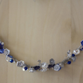 Blue and Silver Tiara
