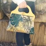 Tropical leaves Handbag