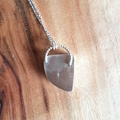 Australian Queensland boulder opal sterling silver pendant for necklace, unisex,