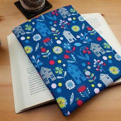Travellers Book Protector, Hanns House Fabric Book Sleeve
