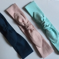 Linen headband - Adult size in a gorgeous deep Teal colour