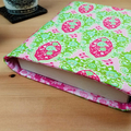 Tilda Sunkiss Fabric Padded Book Sleeve