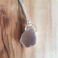 Australian Queensland boulder opal sterling silver pendant for necklace, unisex