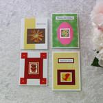 Set of 4 Handmade Gift Cards Any Occasion \ Birthday \ Valentines   Boy\Girl