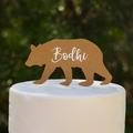 Personalised Bear Cake Topper