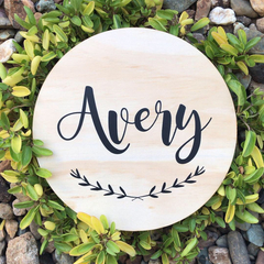 Personalised Wooden Nursery/Kids Room Sign