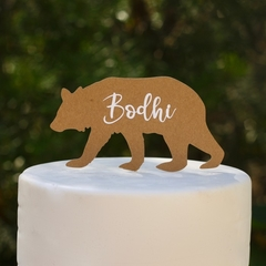 Personalised Bear Cake Topper