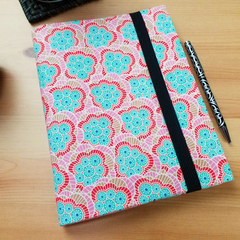 Klara Ginger A5 Journal Cover with Elastic Closure