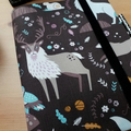 Arctic Woodlands A5 Journal Cover with Elastic Closure