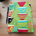 Sushi Bowls A5 Journal Cover with Elastic Closure