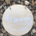 Personalised Wooden Nursery/Kids Room Sign