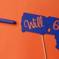 Personalised Nerf Gun cake Topper