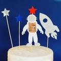 Astronaut Cake Topper Kit