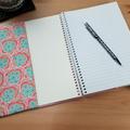 Klara Ginger A5 Journal Cover with Elastic Closure