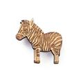 Zebra brooch - wooden animal brooch - eco friendly wood - African jewelry - anim