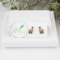 Llama stud earrings - llama jewellery - Llama earrings - funny llama themed gift