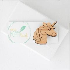 Unicorn brooch - unicorn gift - unicorn animal gift, unicorn pin, unicorn gift f