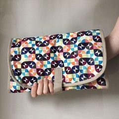 """Kaleidoscope"" Baby travel  change mat, nappy diaper wallet clutch"