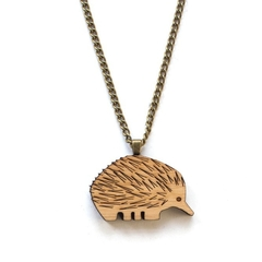 Australian animal jewellery - Echidna necklace - Australiana jewellery - Austral